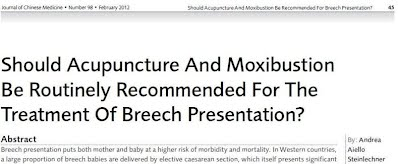 breech, breech pregnancy, malpositioned foetus, malpositioned baby, treatment of breech baby, acupuncture for breech, moxa for breech, moxibustion for breech, moxabustion for breech, treatment of breech, transverse position